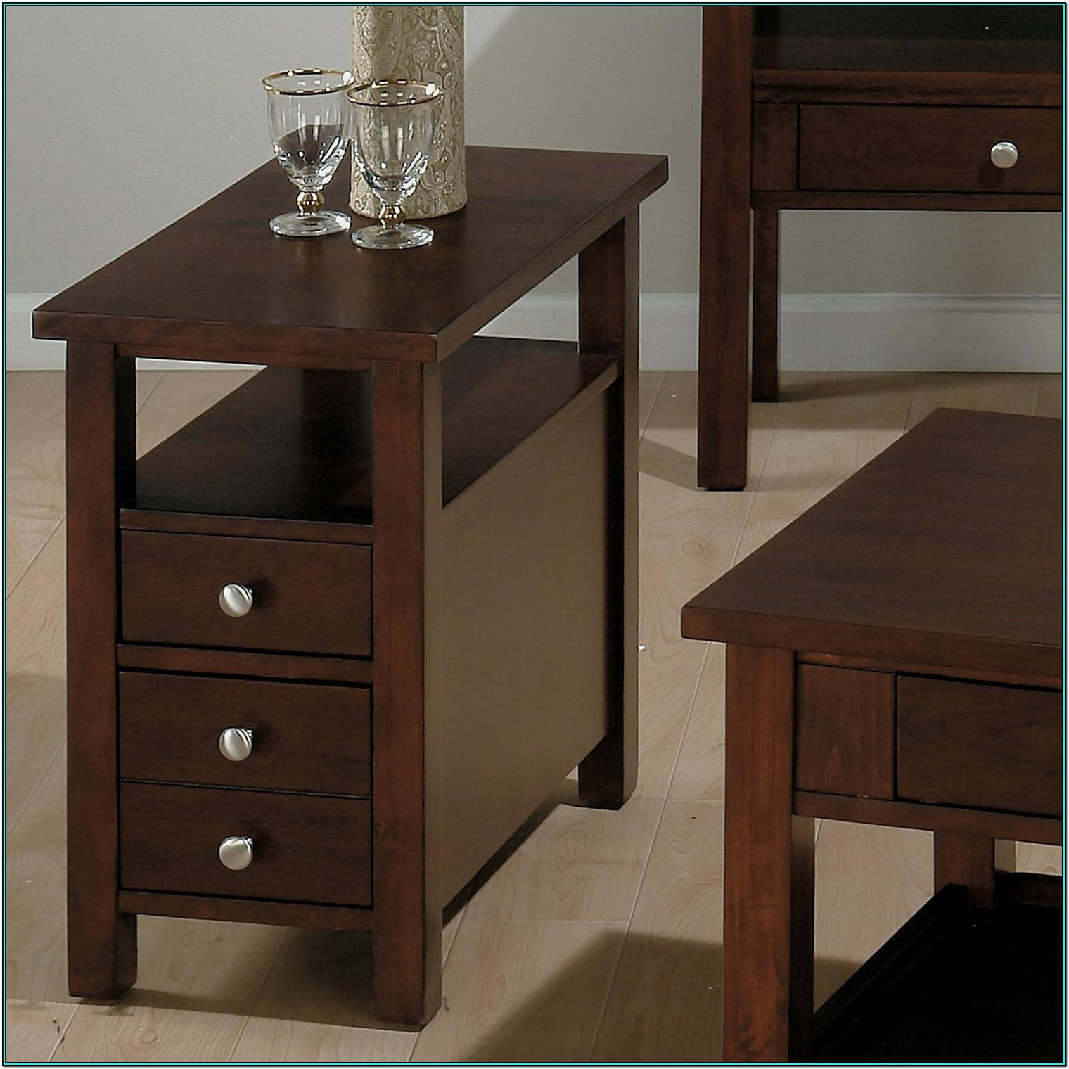 Living Room Small Side Table With Drawers