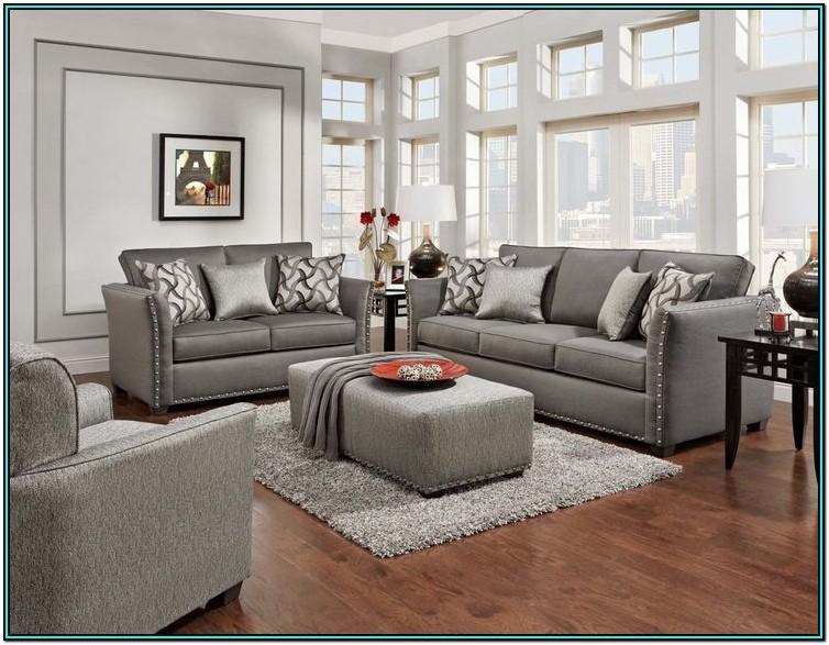 Living Room Sofa And Loveseat Set
