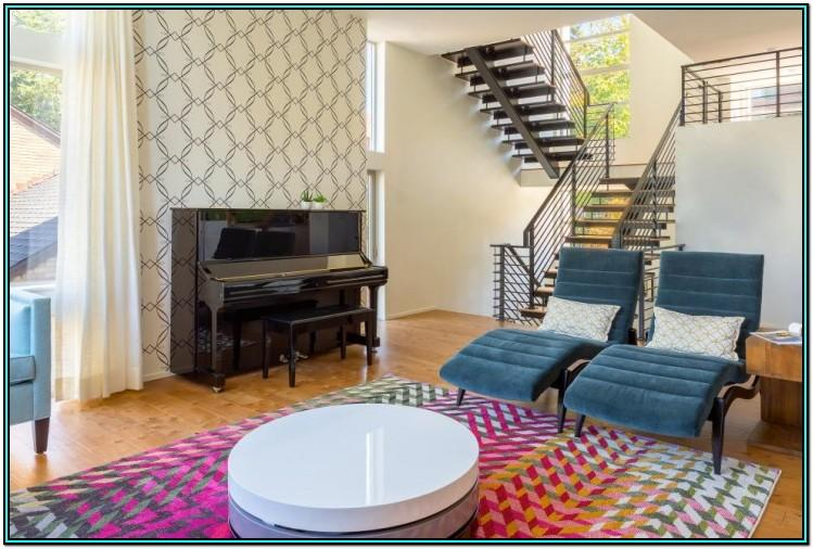 Living Room Stairs Design Ideas
