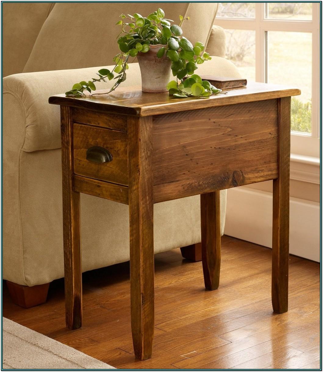 Living Room Storage Side Table