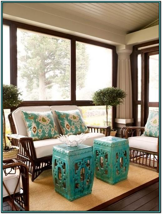 Living Room Table With Stools Underneath