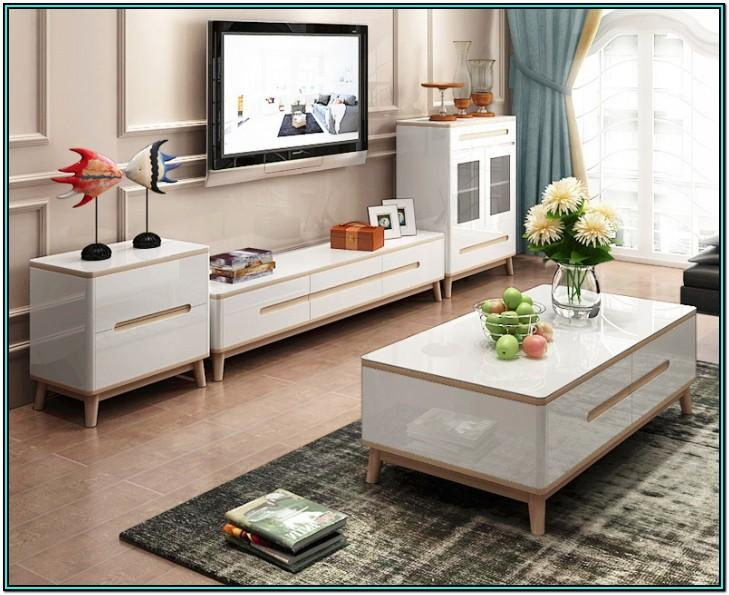 Living Room Television Table Stand