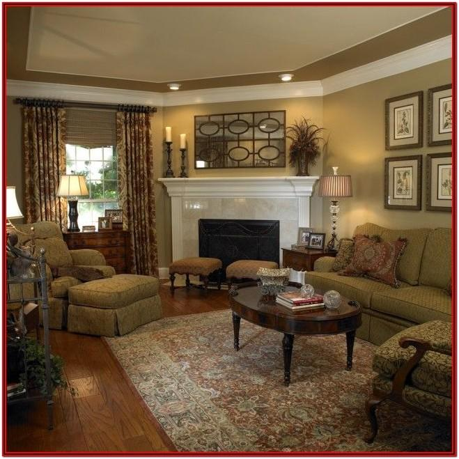 Living Room Traditional Fireplace Ideas