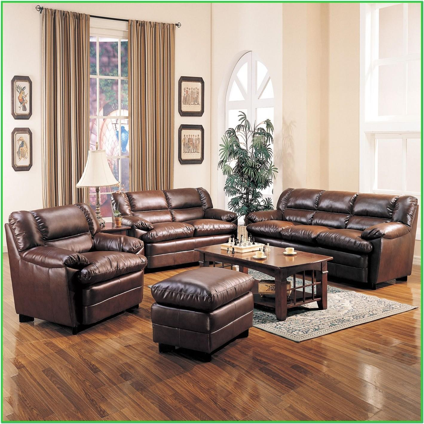 Living Room Wall Colors With Brown Leather Furniture
