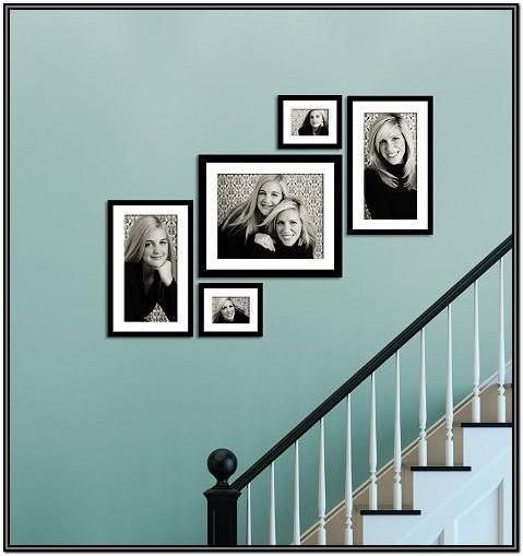 Living Room Wall Frame Arrangement Ideas