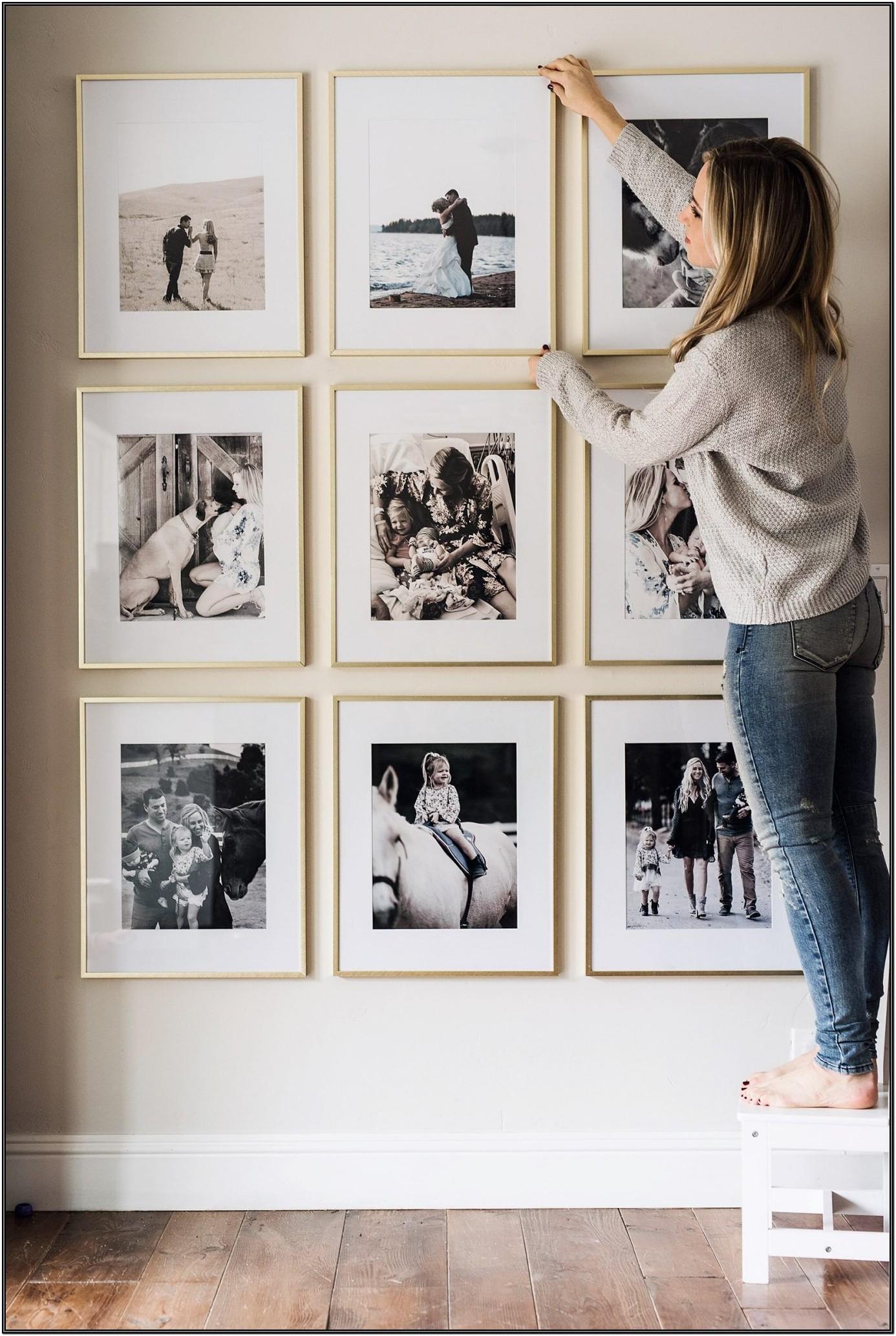 Living Room Wall Frame Decor Ideas