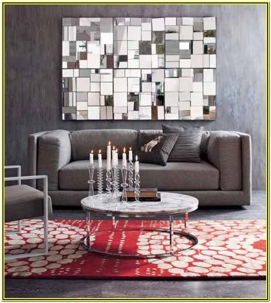 Living Room Wall Ideas With Mirrors
