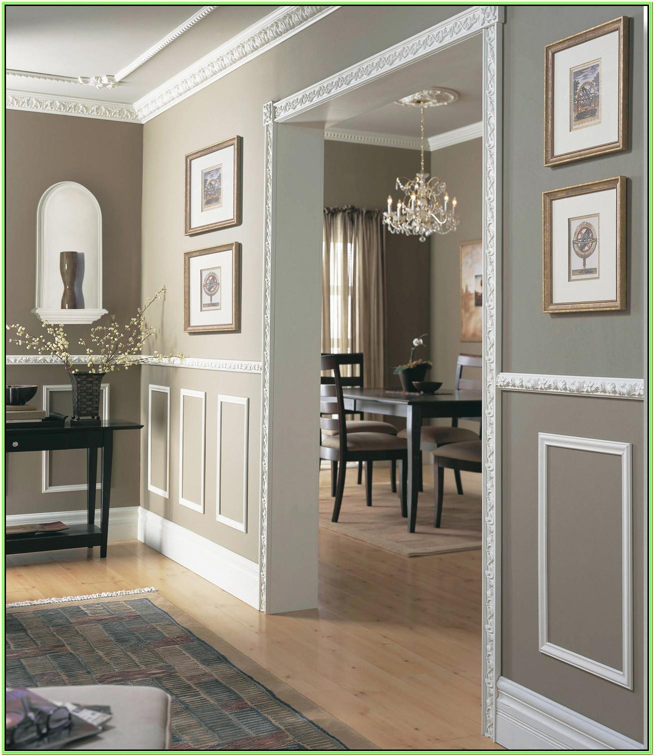 Living Room Wall Molding Ideas