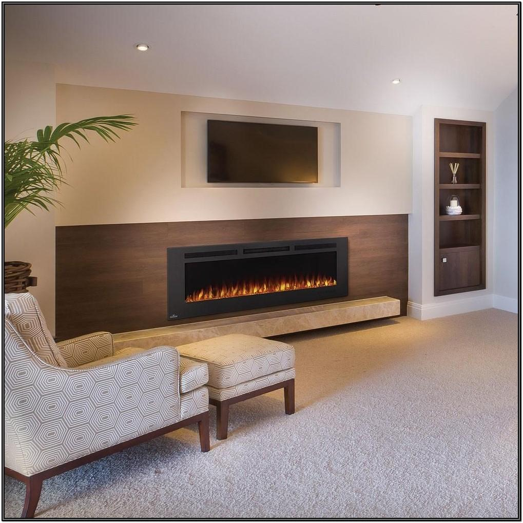 Living Room Wall Mount Fireplace Ideas