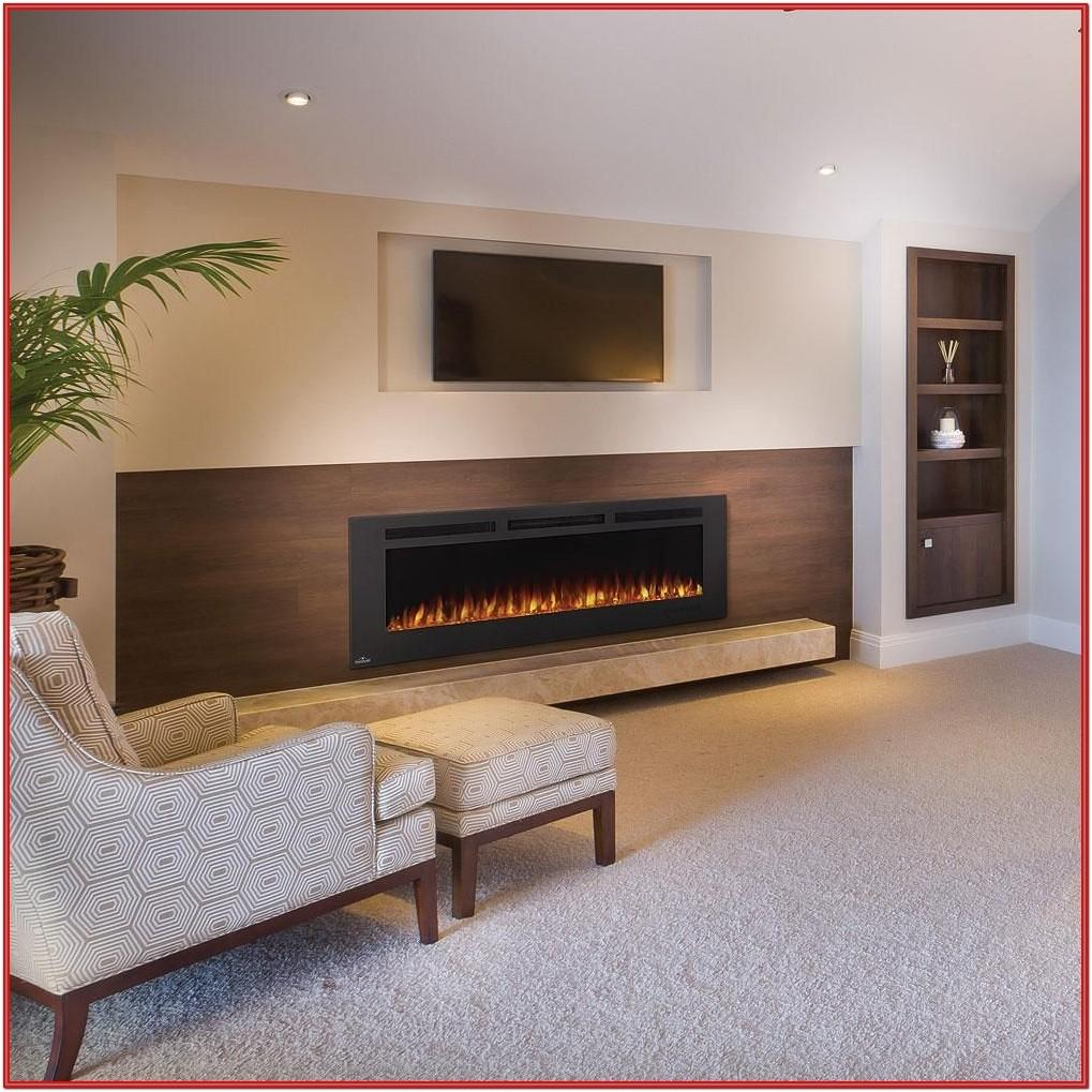 Living Room Wall Mounted Electric Fireplace Ideas