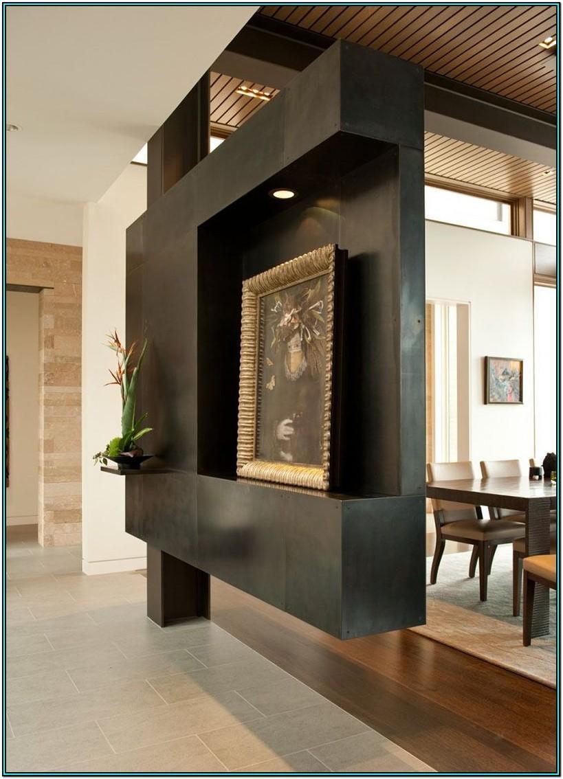 Living Room Wall Separator Ideas