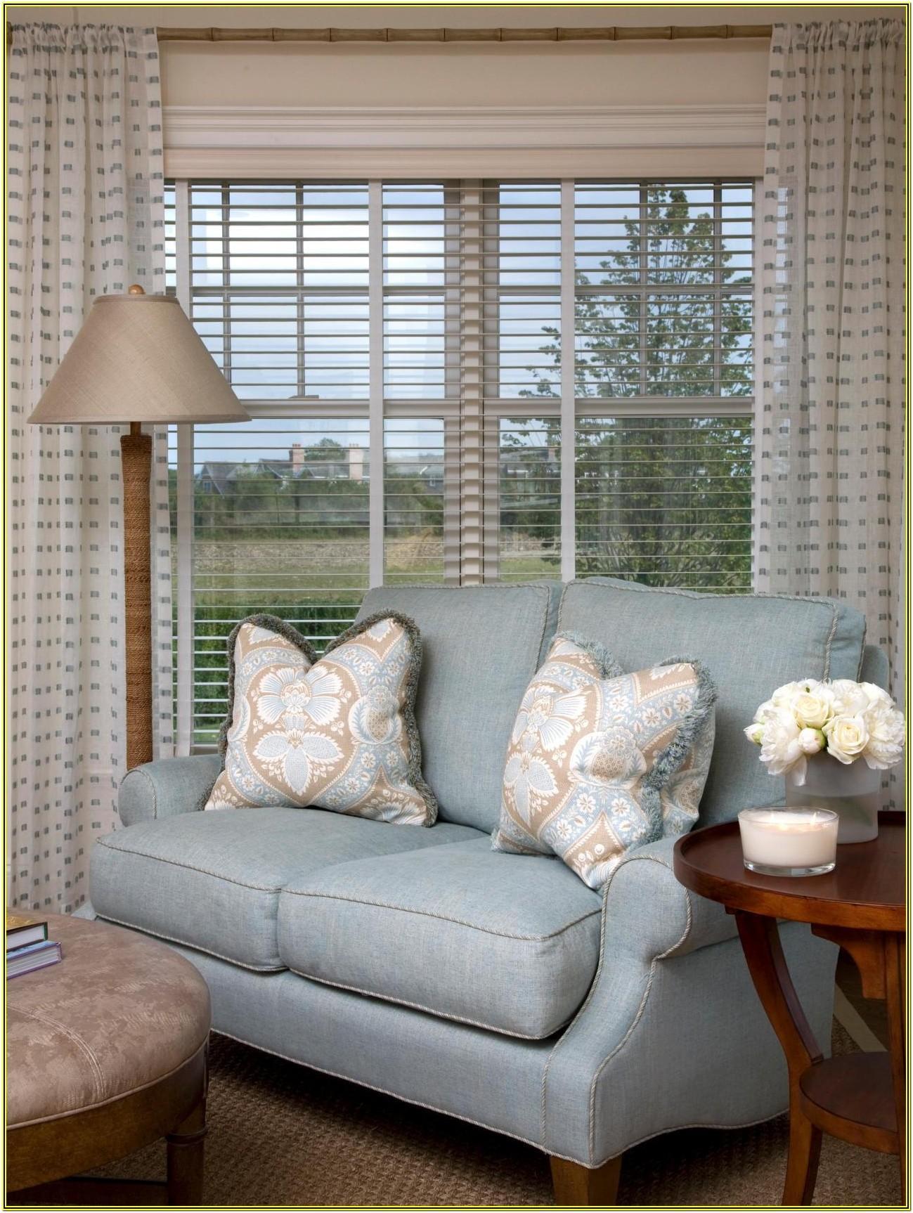 Living Room Window Blinds Ideas