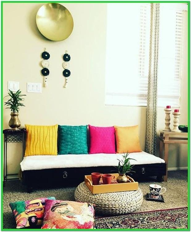 Living Room Window Design India