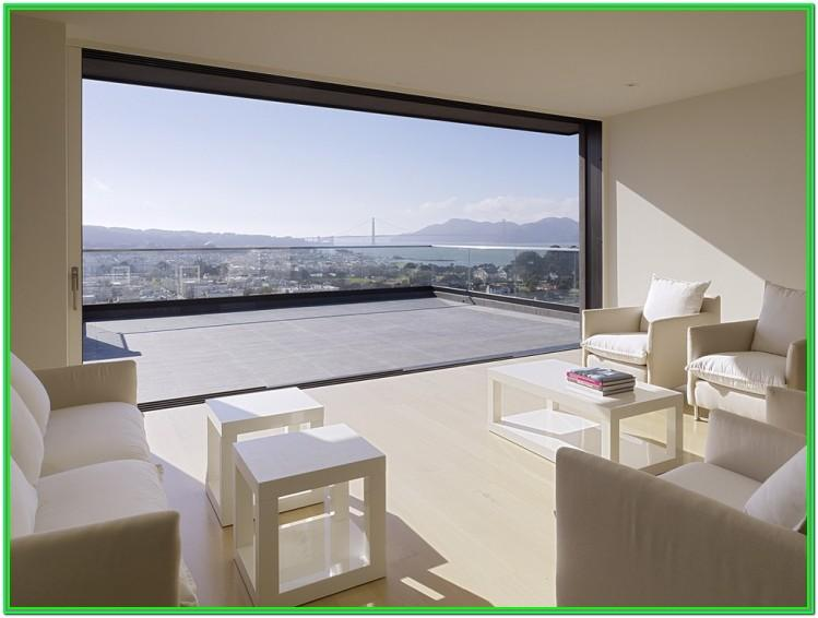 Living Room Window Design With Glass