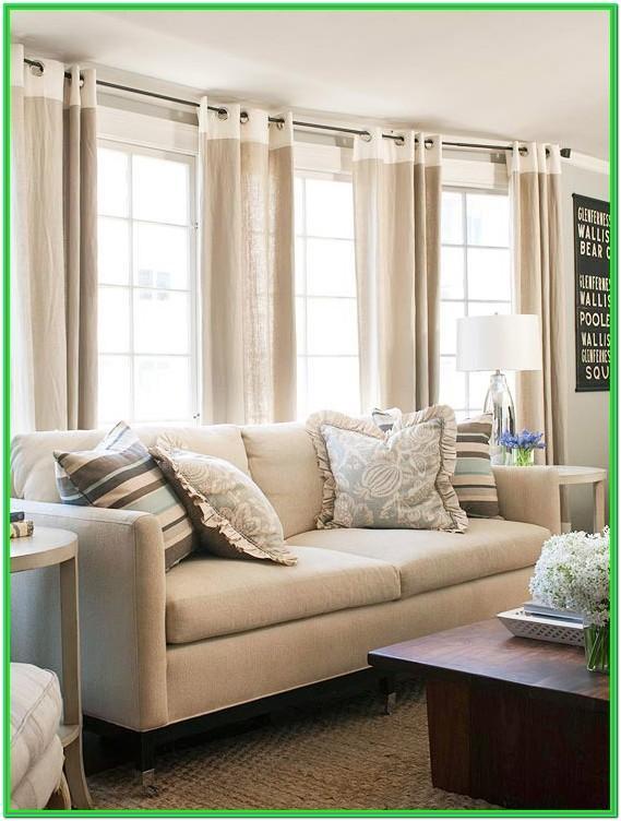 Living Room Window Dressing Ideas