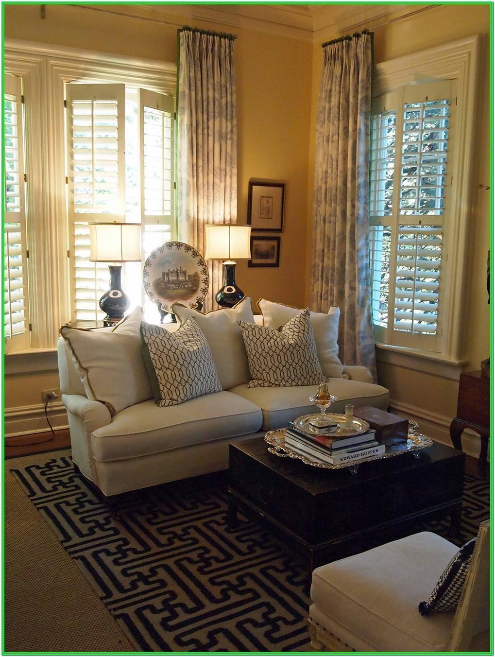 Living Room Window Dressings