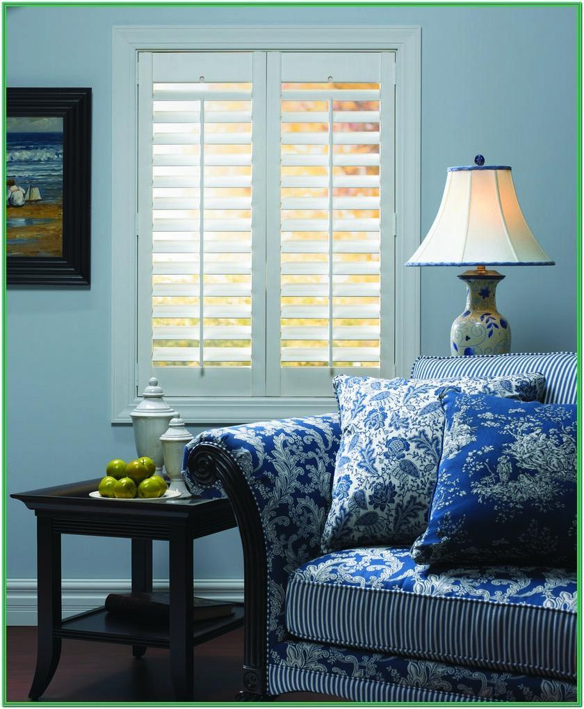 Living Room Window Shutters Interior