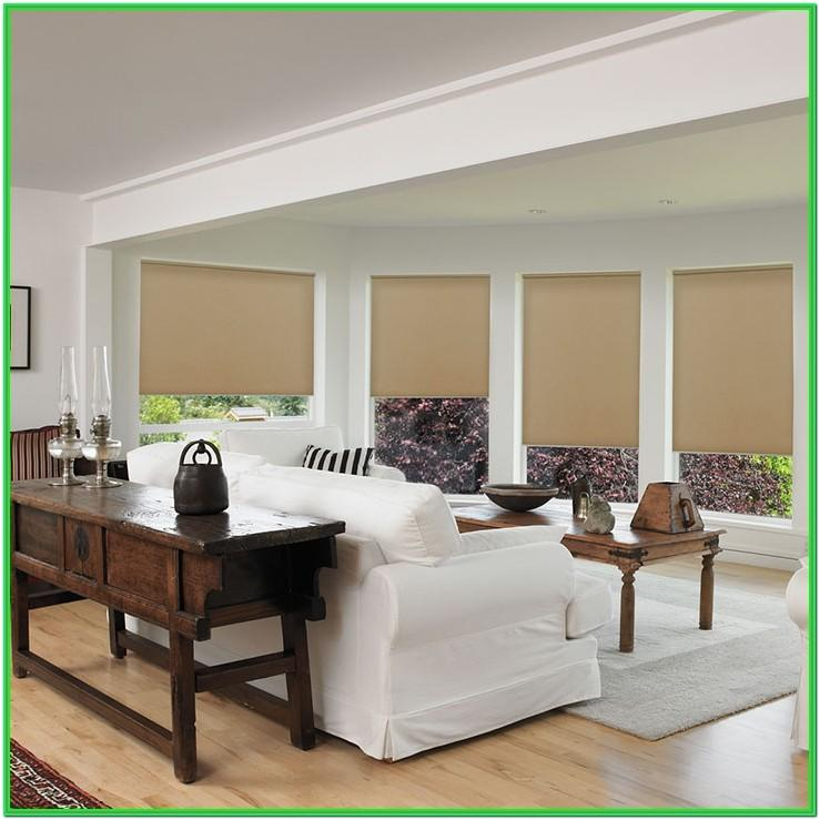 Living Room Window Tint Blinds