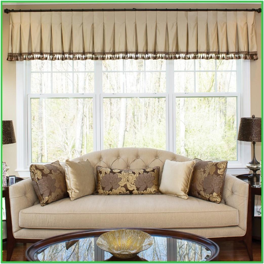 Living Room Window Valance Styles