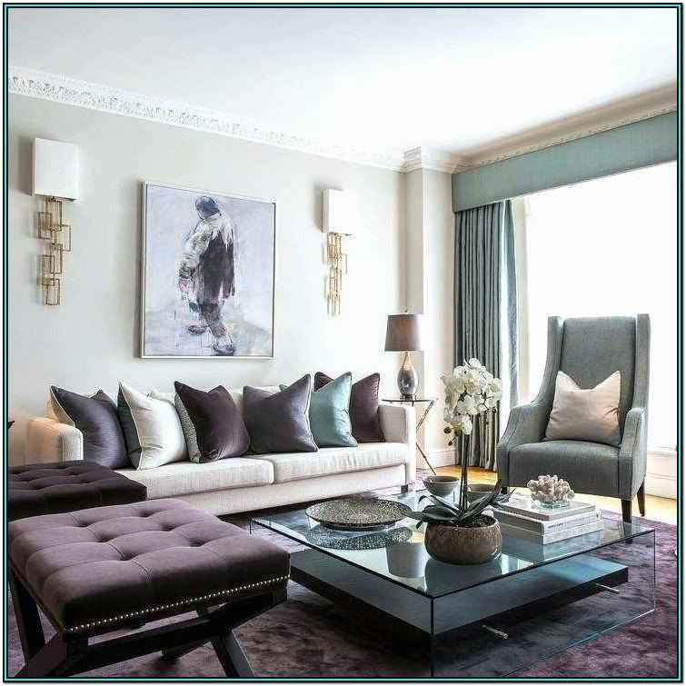 Living Room Without Coffee Table Ideas
