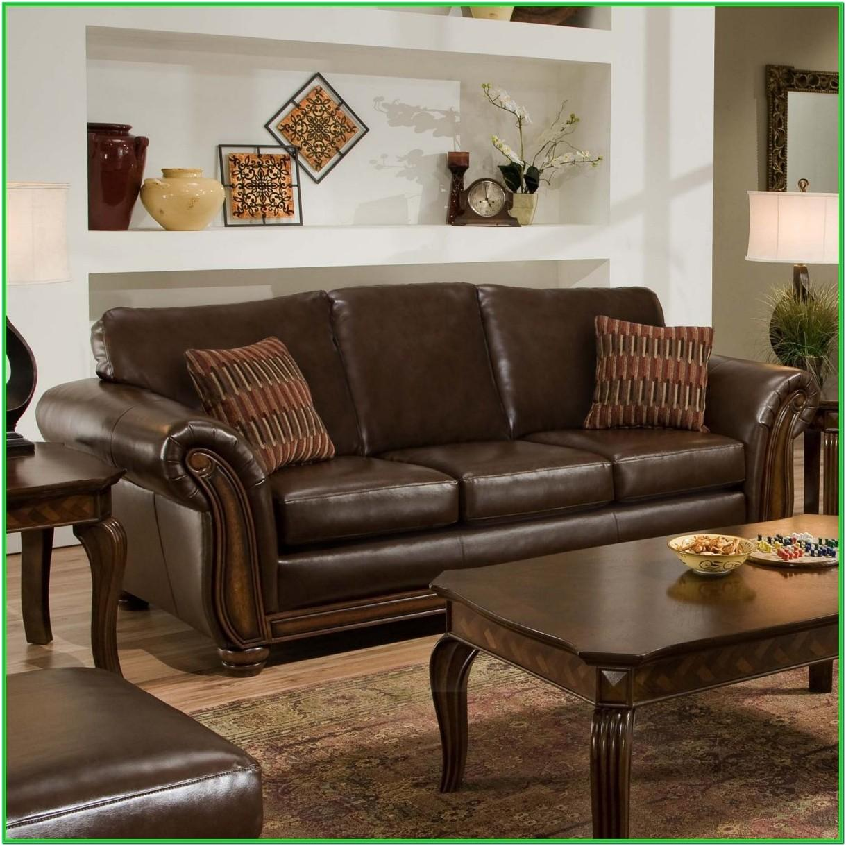 Living Rooms With Dark Leather Furniture