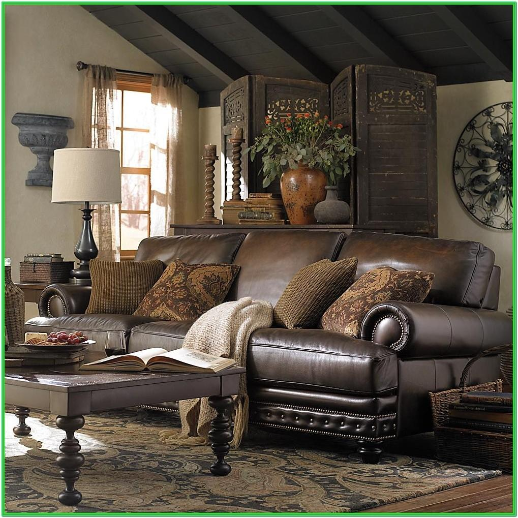 Living Rooms With Leather Furniture Decorating Ideas