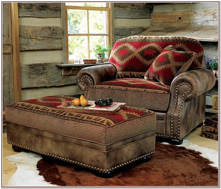 Log Cabin Style Living Room Furniture