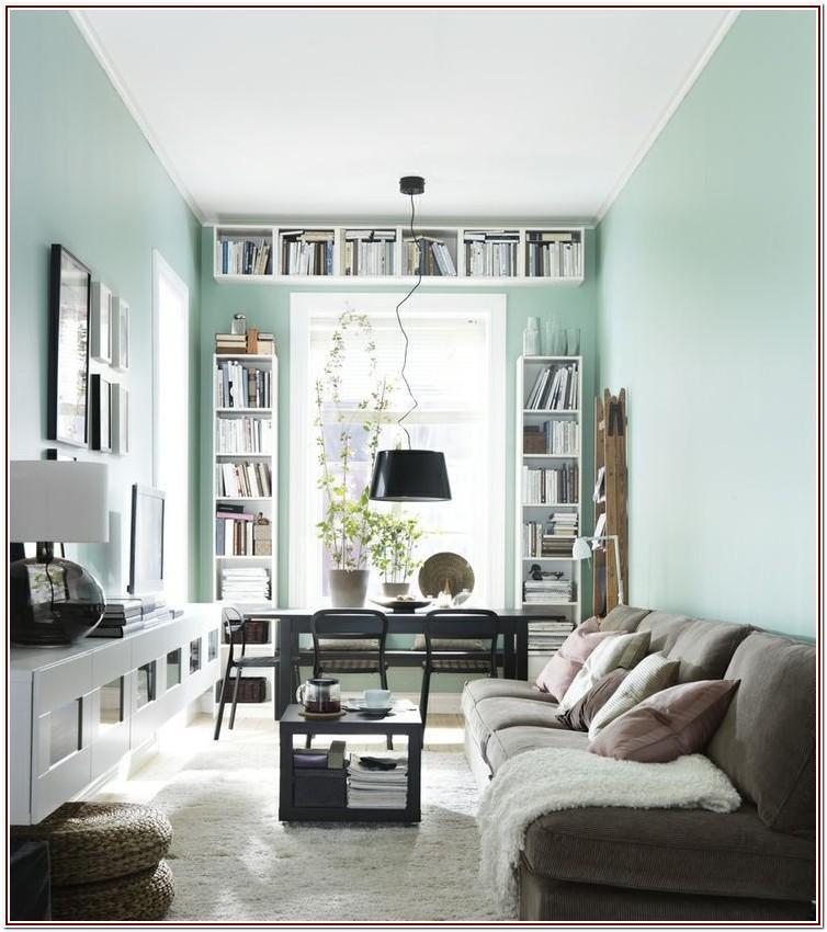 Long And Narrow Living Room Design