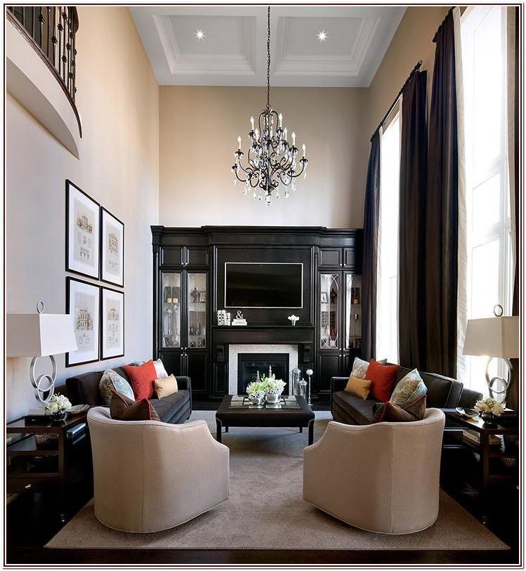 Long Narrow Living Room Furniture Layout