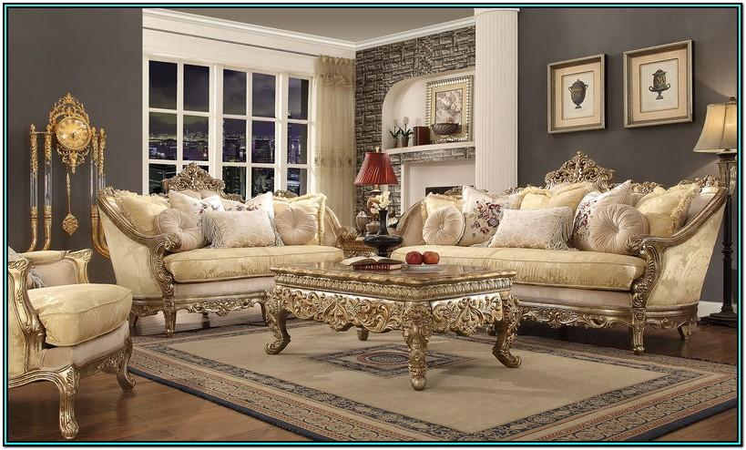 Luxury Beautiful Living Room Sets