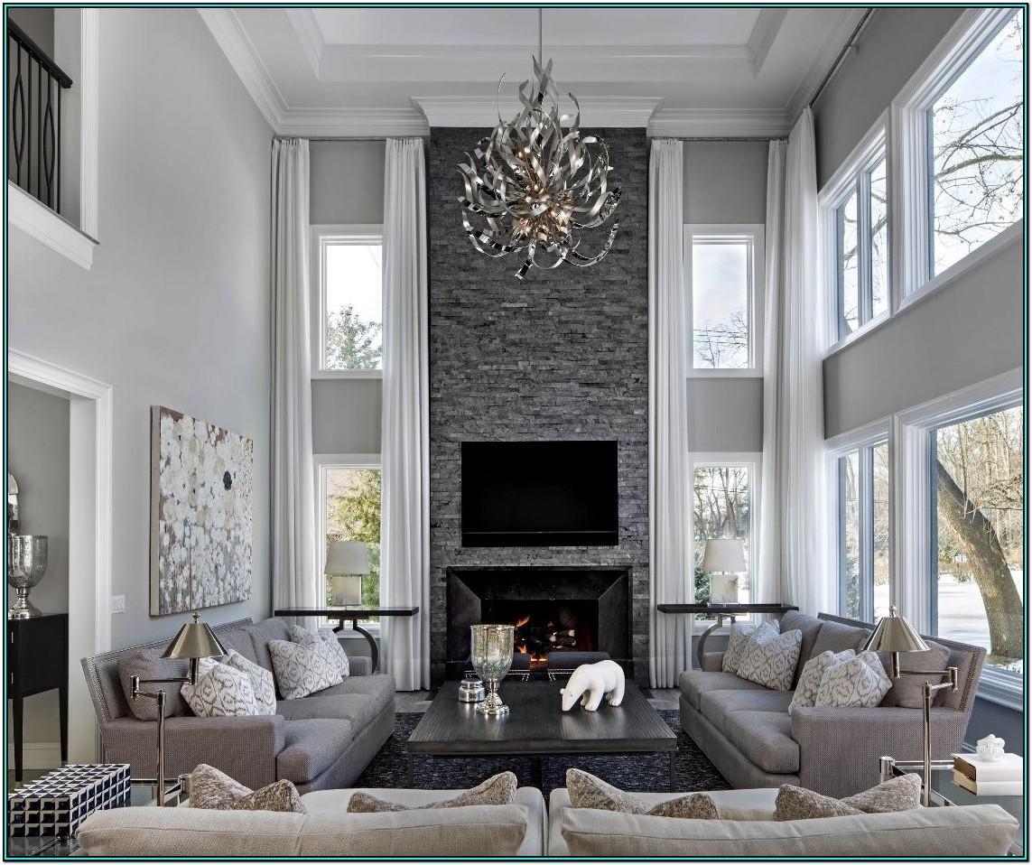 Luxury Grey Living Room Sets