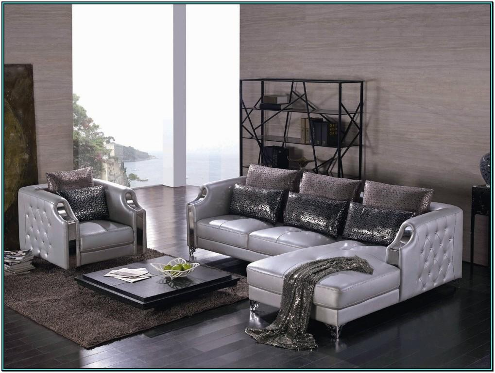 Luxury Leather Living Room Sets
