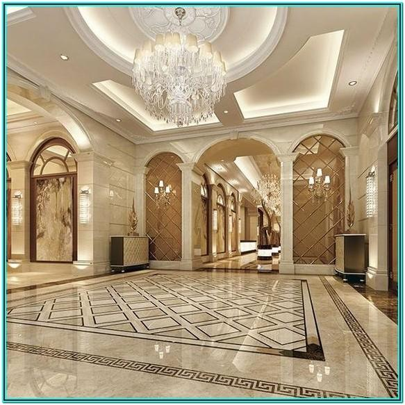 Luxury Living Room Modern Floor Tiles Design