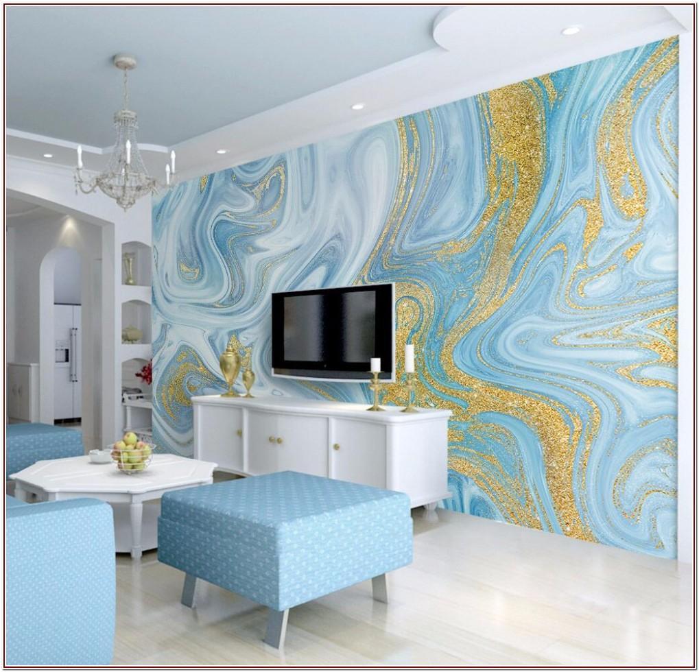 Luxury Marble Wallpaper Living Room
