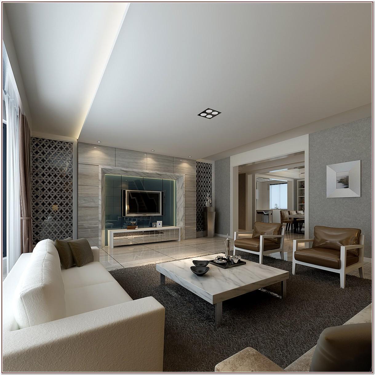 Luxury Modern Luxury White Living Room Furniture