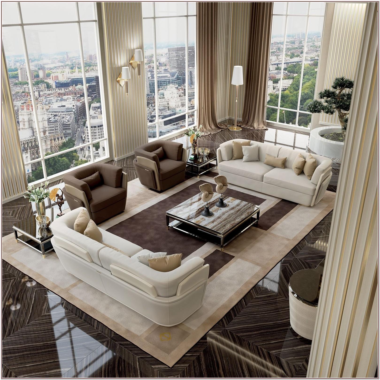 Luxury Modern Simple Living Room Furniture