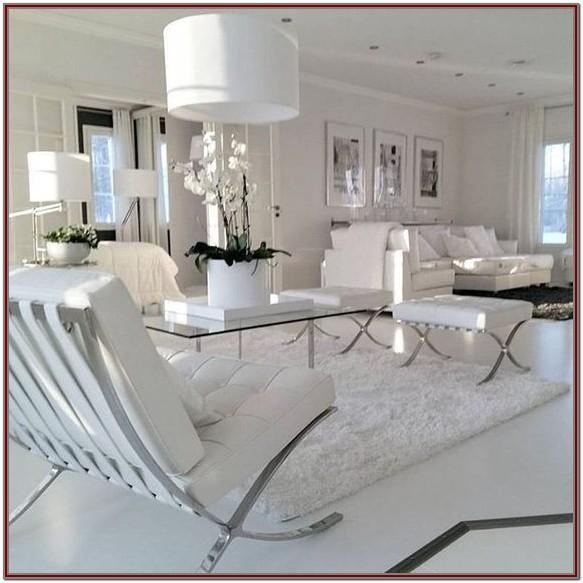 Luxury Modern White Living Room Furniture