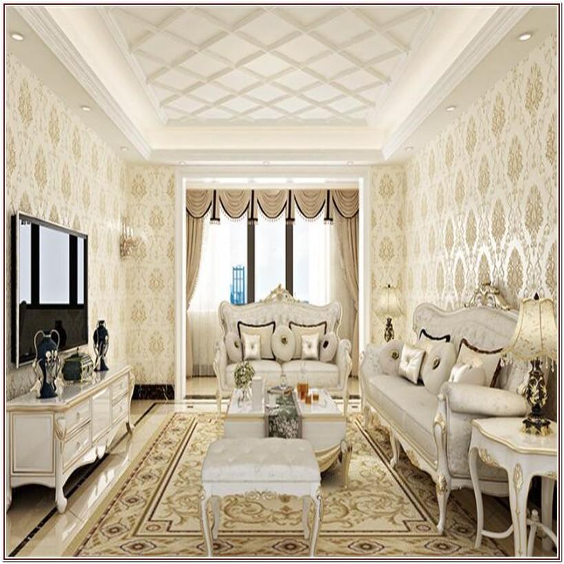 Luxury Wallpaper For Living Room Texture