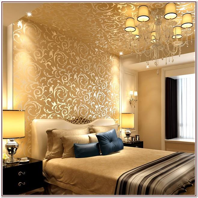 Luxury Wallpaper For Living Room Wall