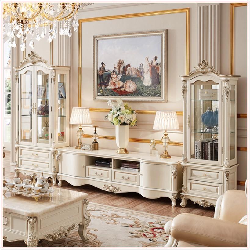 Luxury White Living Room Furniture