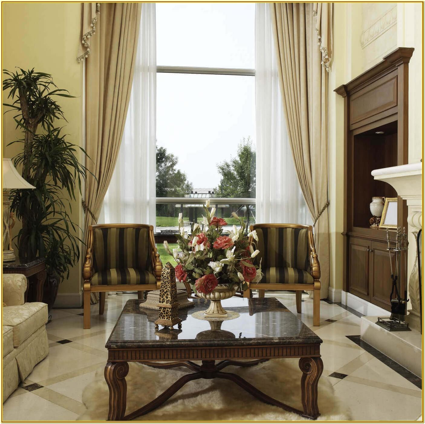 Marble And Gold Living Room Decor