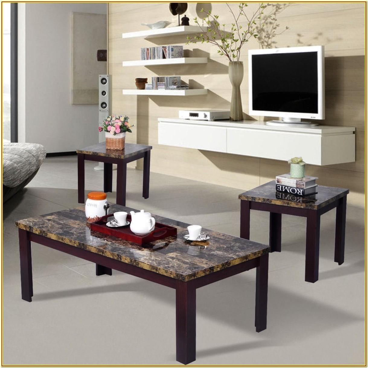 Marble Living Room Furniture Sets