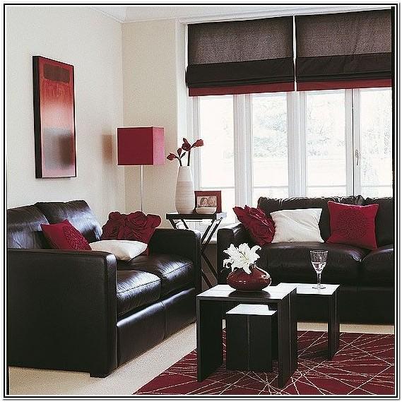 Maroon And Black Living Room Ideas