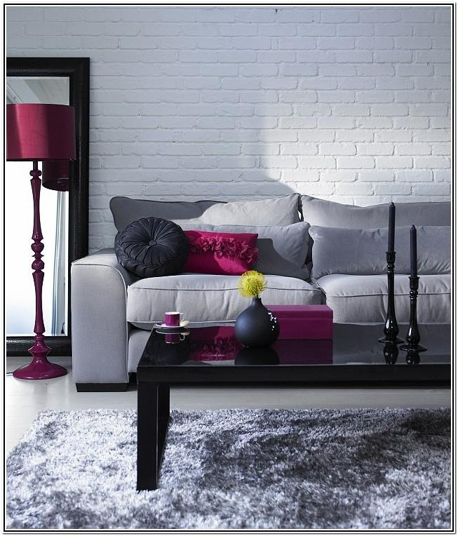 Maroon And Grey Living Room Ideas
