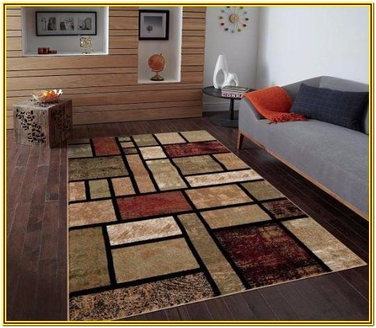 Maroon Rug Living Room