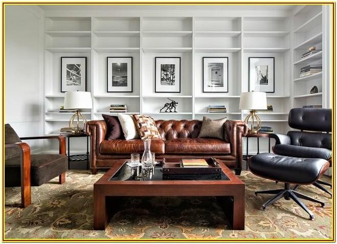 Masculine Living Room Furniture