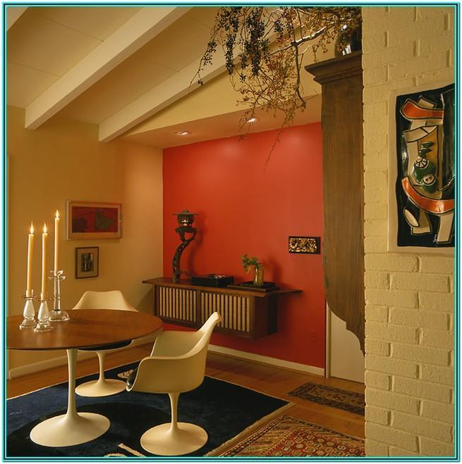 Mid Century Modern Living Room Paint Colors
