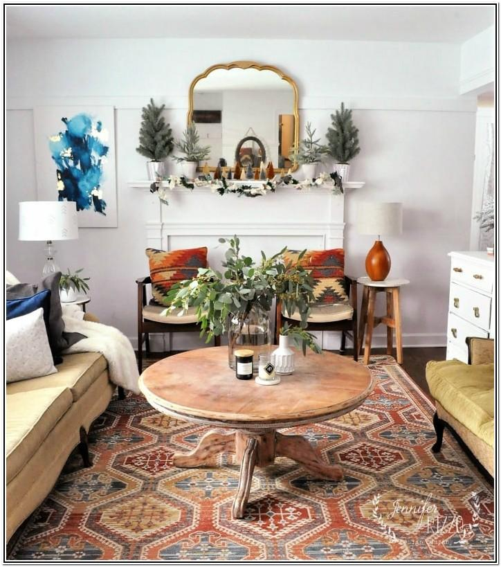 Mid Century Modern Modern Bohemian Bohemian Living Room Ideas