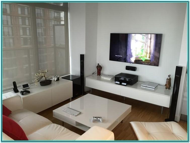 Minimalist Living Room Setup
