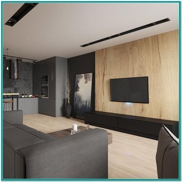 Minimalist Living Room Tv Setup